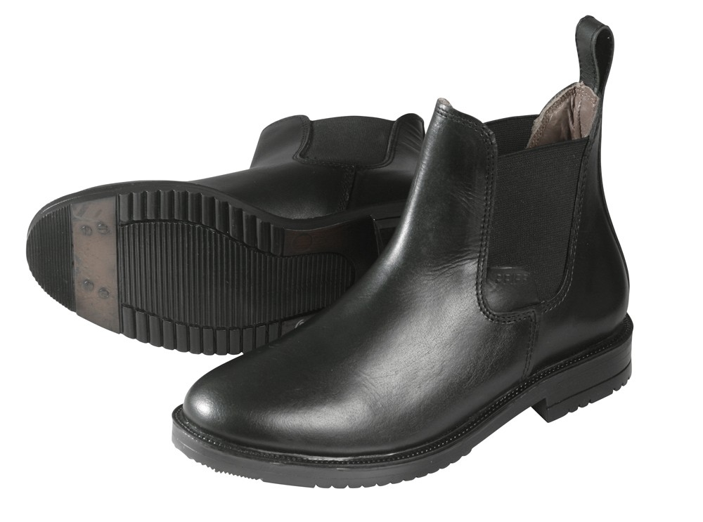 Kožené jazdecké topánky