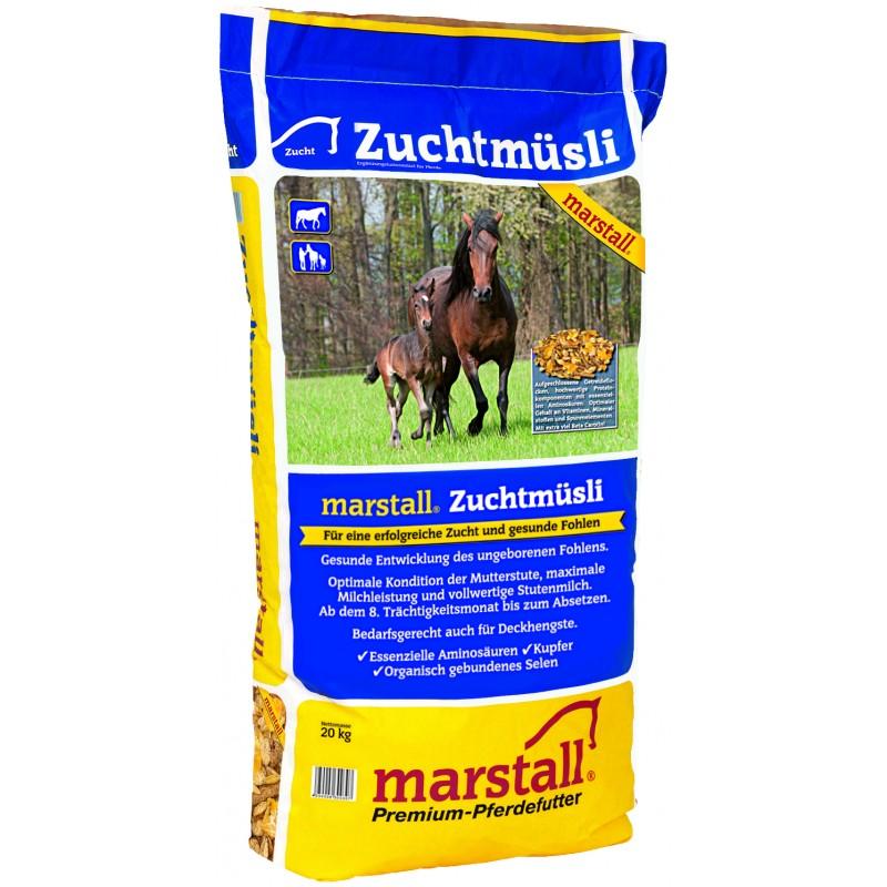 Müsli pre chovné kobyly Marstall Zuchtmüsli