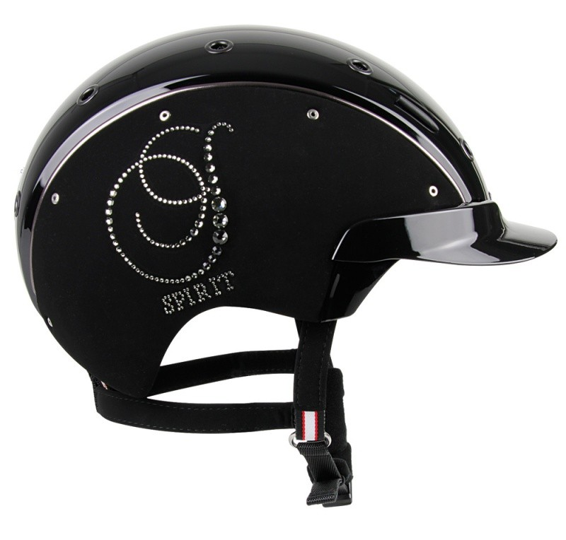 CASCO SPIRIT- 6 Crystal čierna
