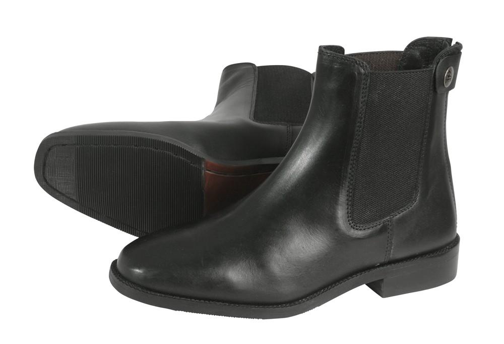 """Jazdecké topánky  """"Traun"""" - čierne"""