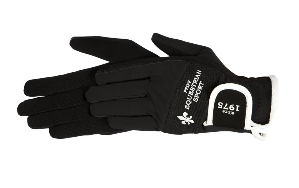 Jazdecké rukavice s logom
