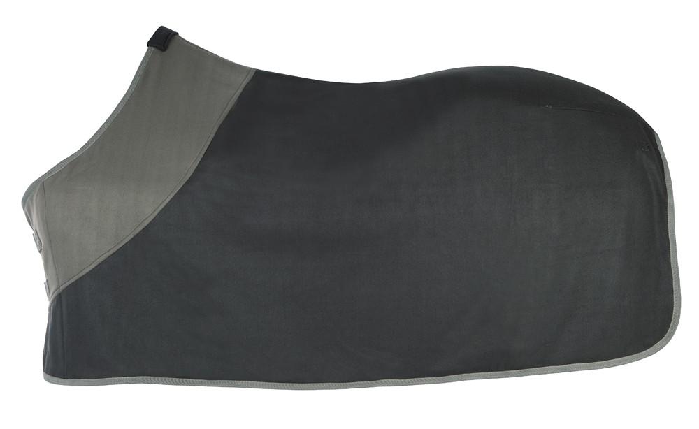 Odpocovacia deka čierno-sivá