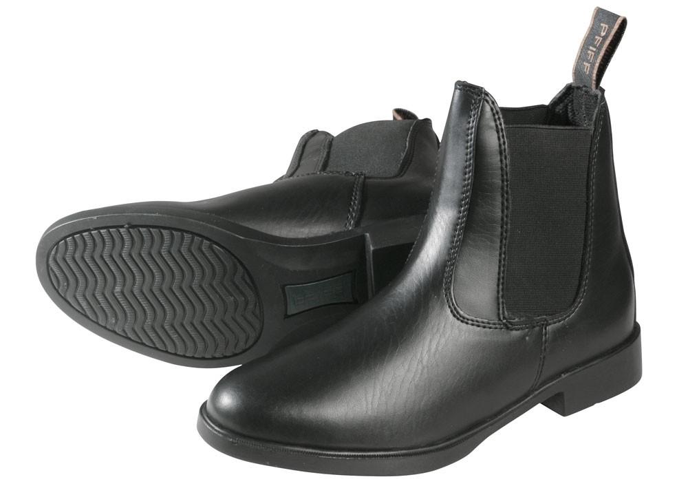 "Jazdecké topánky ""Jodhpur"" - čierne"