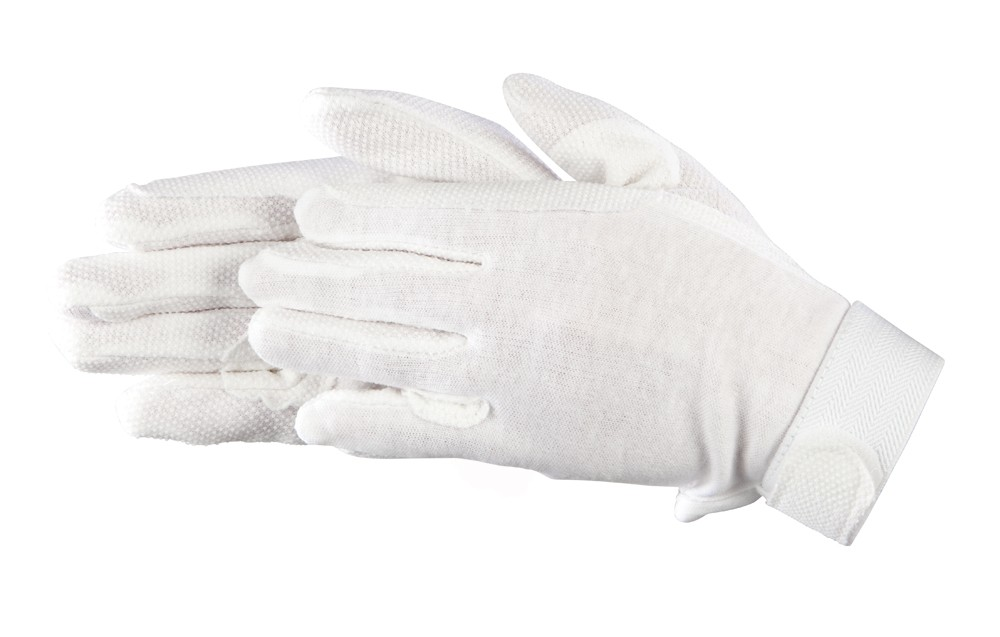 Bavlnené rukavice- Biele