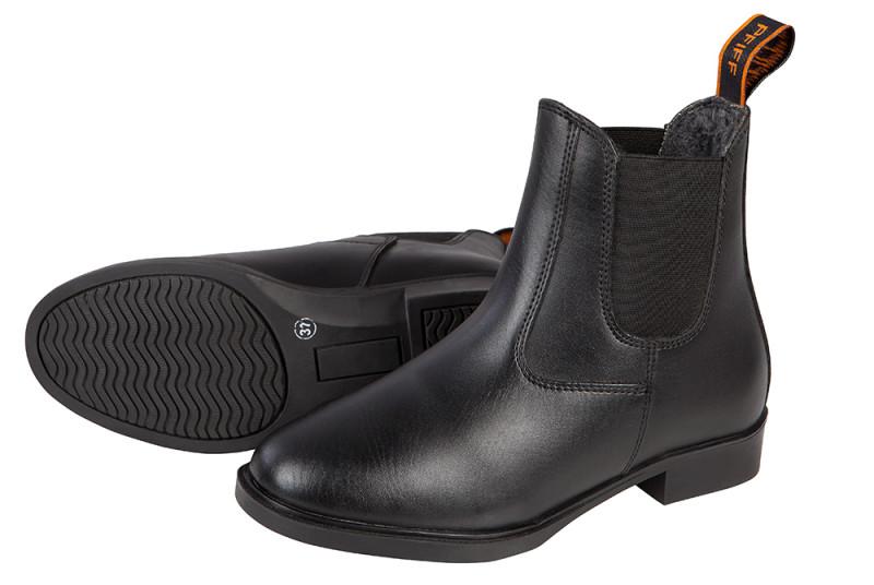 Futrované jazdecké topánky