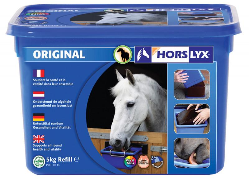 HORSLYX, pochúťka pre kone vo forme lizu - Original
