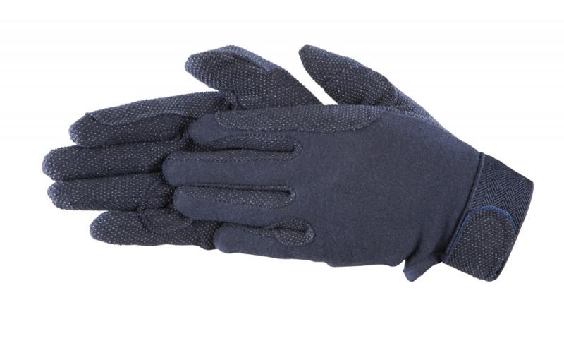 Bavlnené rukavice- Modré
