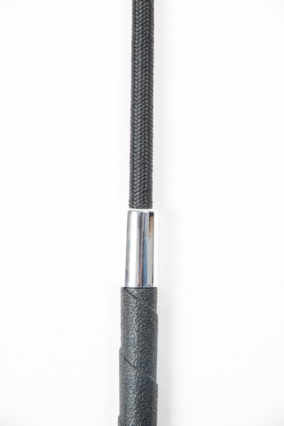 Drezúrny bičík s protišmykovou rukoväťou - čierny