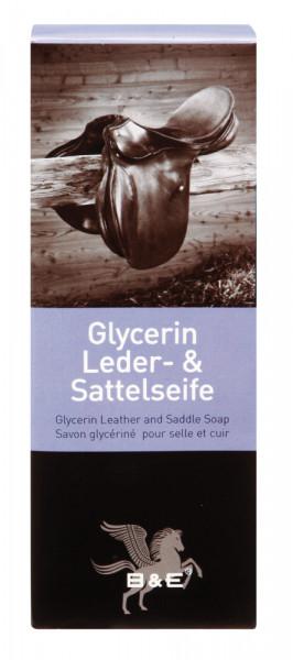 Glycerínové mydlo sedlo & koža