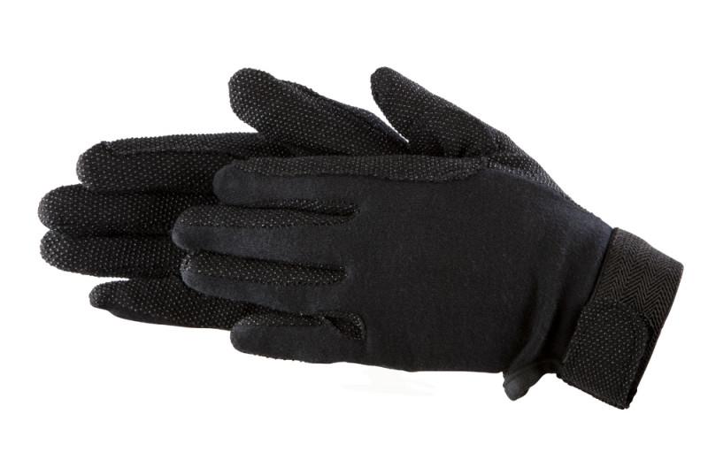 Bavlnené rukavice- Čierne