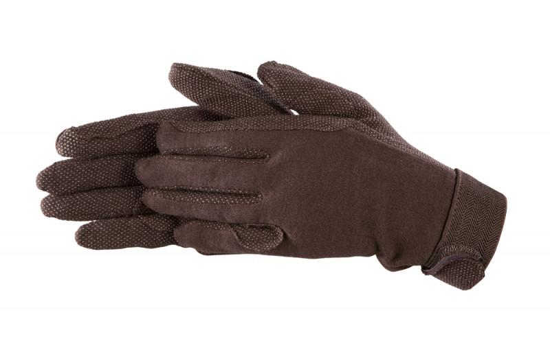 Bavlnené rukavice- Hnedé