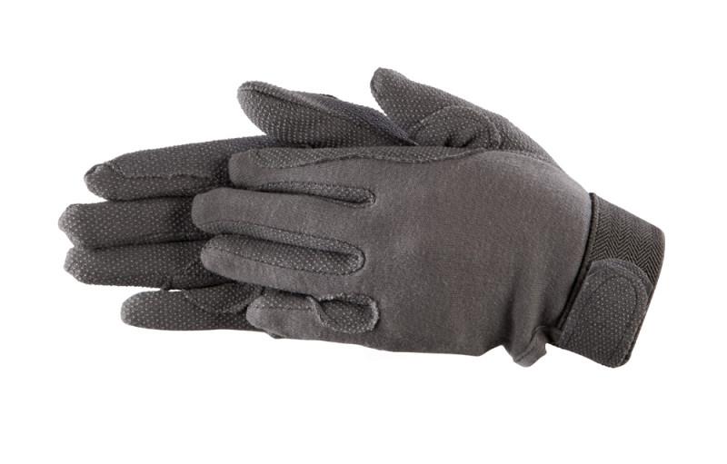 Bavlnené rukavice- Sivé