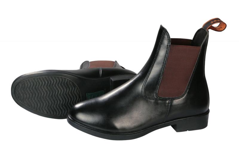 """Jazdecké topánky """"Jodhpur""""  čierno-hnedé"""