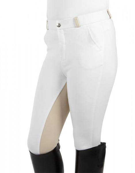 "Detské jazdecké nohavice  ""Elisa"" biela- béžová"