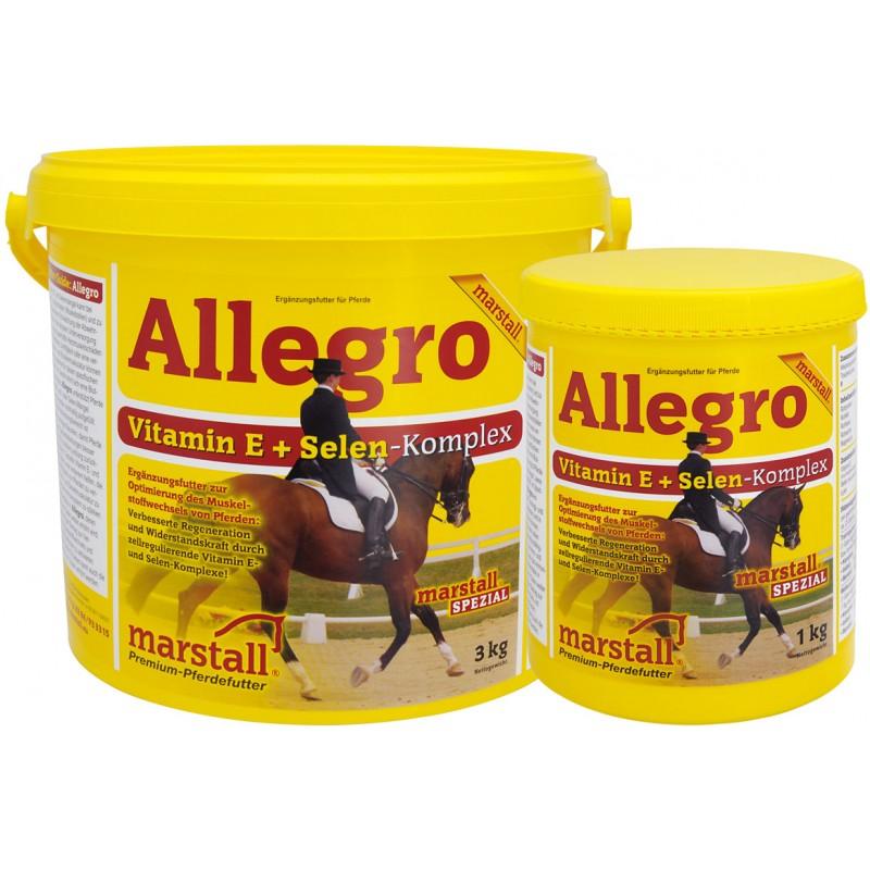 Doplnok pre podporu látkovej výmeny Marstall Allegro