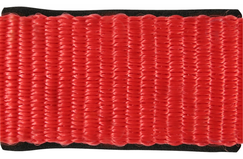 Ohlávka s nastaviteľným nátylníkom - červená