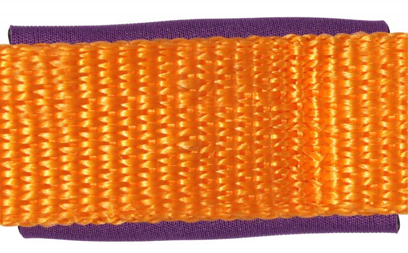 Ohlávka s nastaviteľným nátylníkom - oranžová