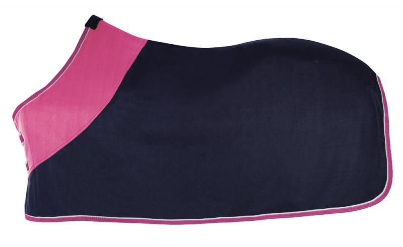 Odpocovacia deka modro-ružová