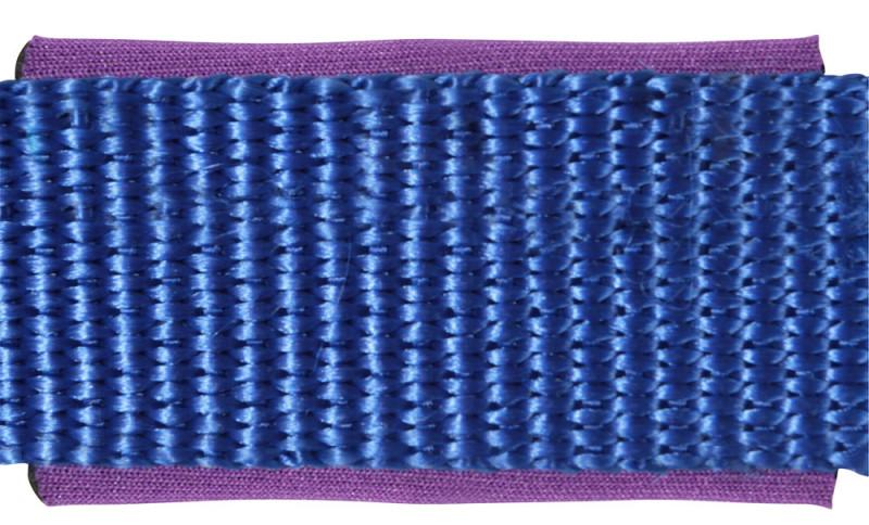 Ohlávka s nastaviteľným nátylníkom - modrá