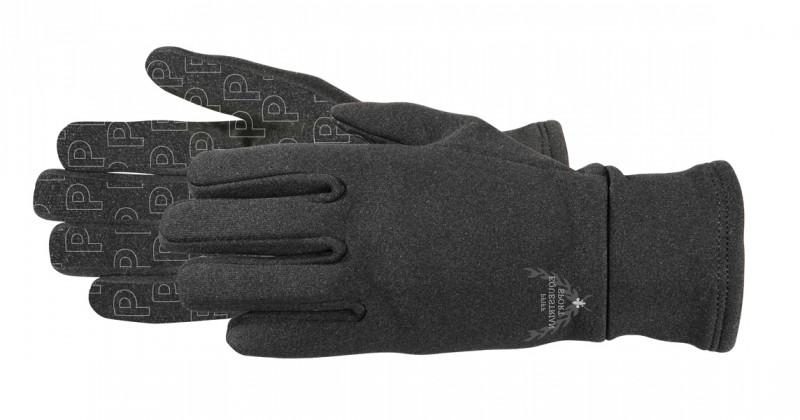 Zimné jazdecké rukavice - čierne