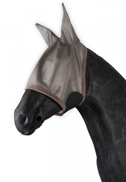 Maska proti hmyzu s ušami - sivá