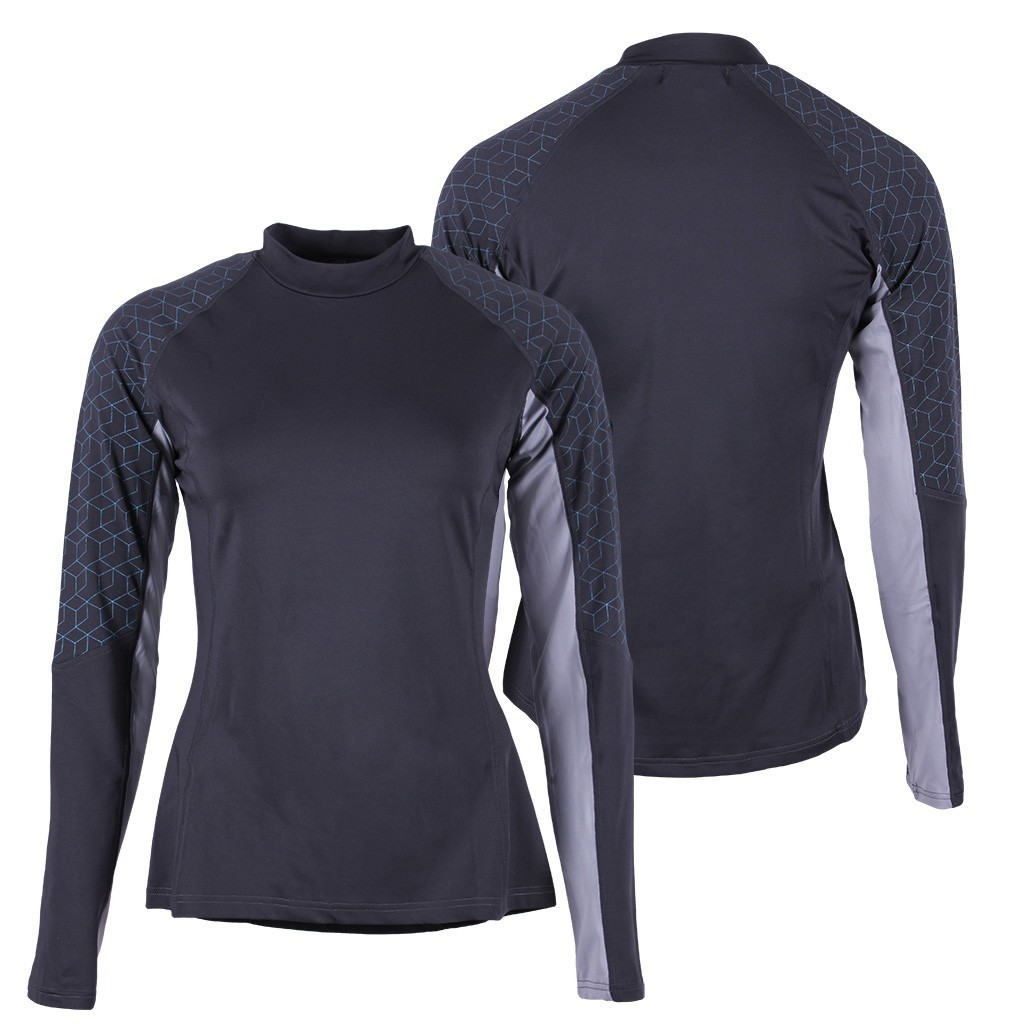 "Športové jazdecké tričko ""Eldorado"" - titanium"