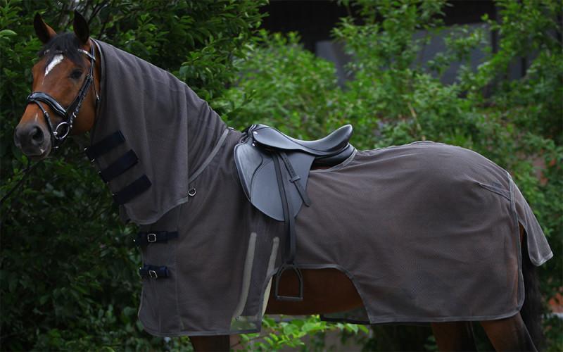 Sieťová jazdecká deka