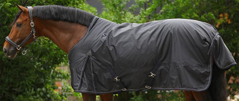 Výbehová deka s vyvýšeným krkom