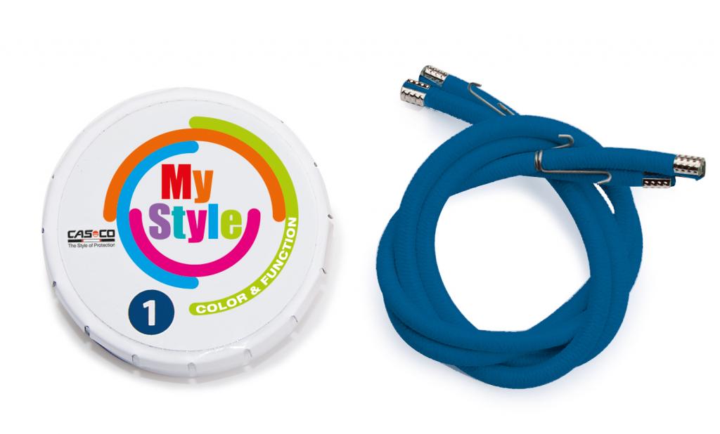 Casco My Style - pásiky modré
