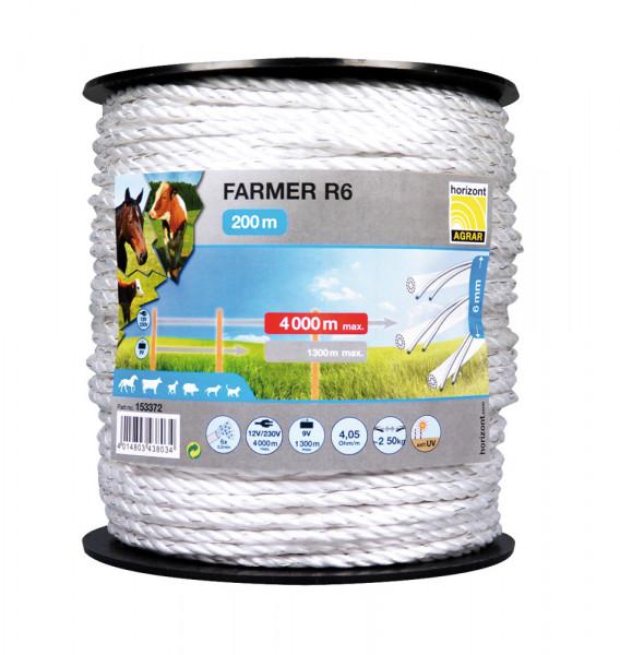 Lanko pre elektrický ohradník Seil Farmer R6
